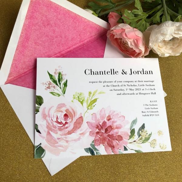 Chantelle Wedding Invitation