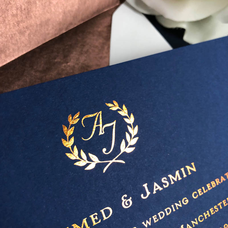 Jamsin wedding invitation