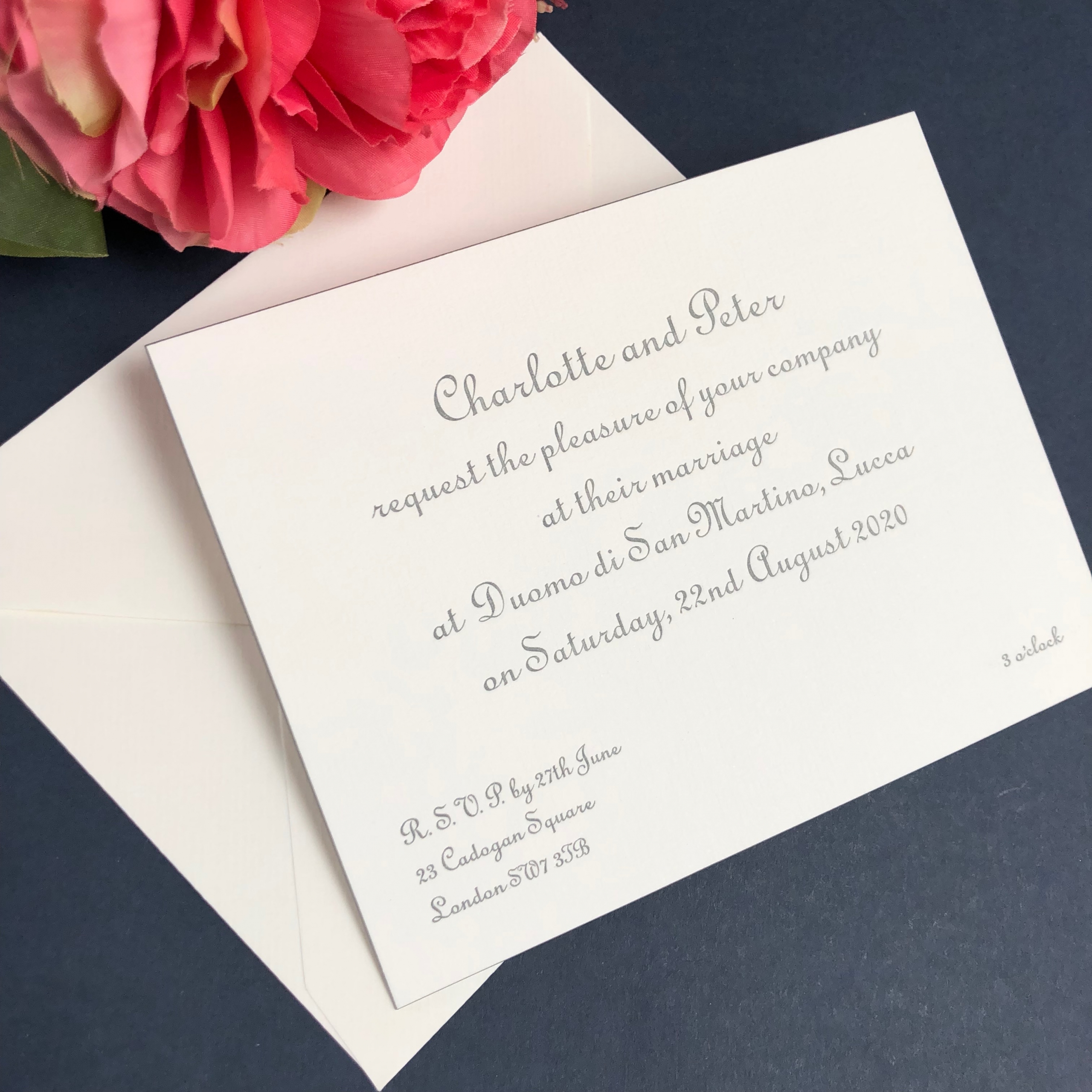 callander wedding invitations