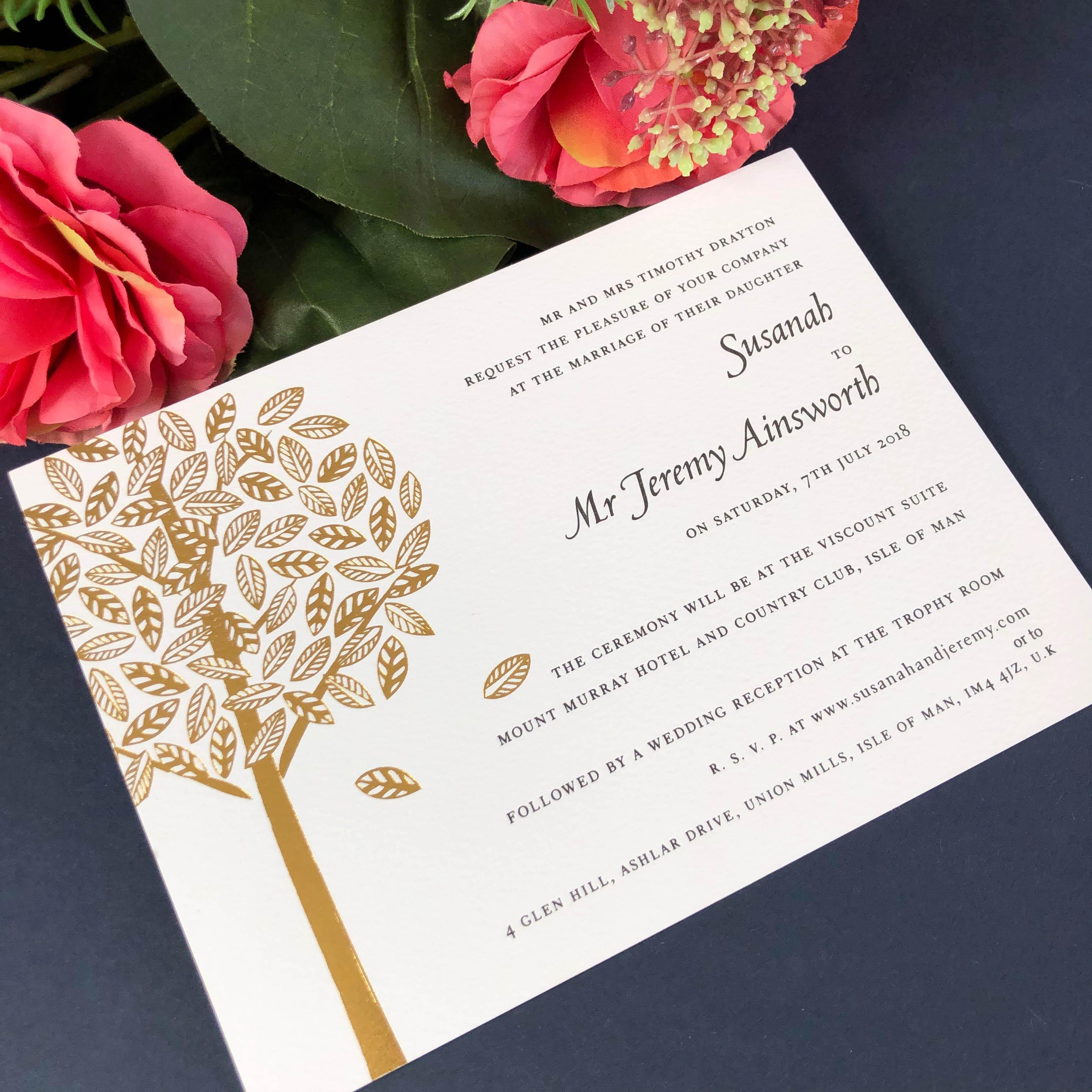 Arden Wedding Invitations