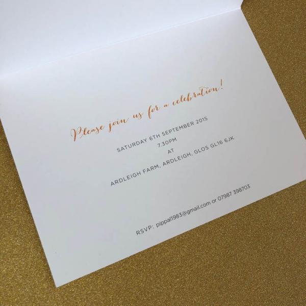 Party! invitation