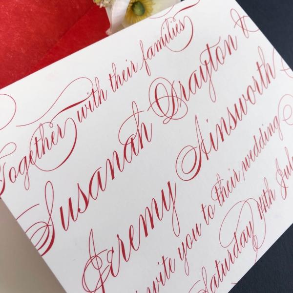 Chelsea Wedding Invitation