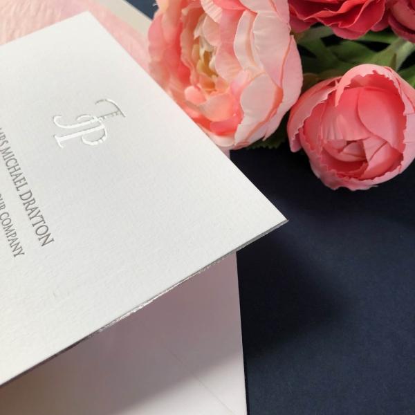 Insignia wedding invitations