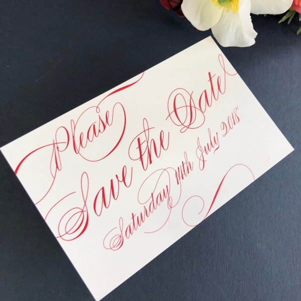 Chelsea Save the Date cards
