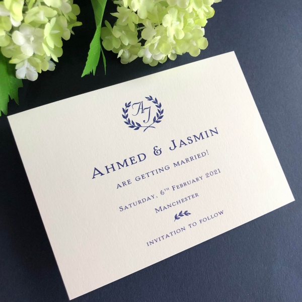 Jasmin Save the Date cards