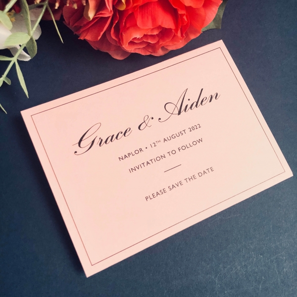 Grace Save the Date cards