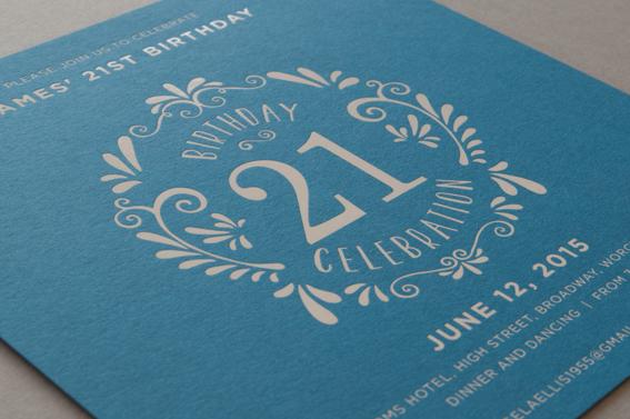 decorative party invitations
